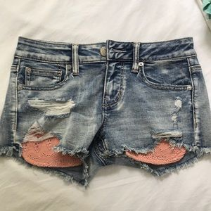 Denim American Eagle shorts